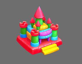 3D model Cartoon Inflatable Castle