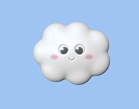3D print model Cute Cloud