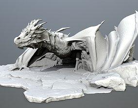 magical 3D print model dragon