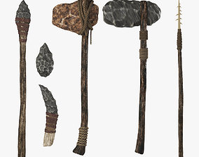 3D Stone age set