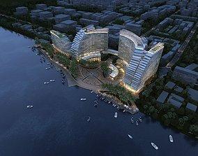 3D model Island Luxury Hotels