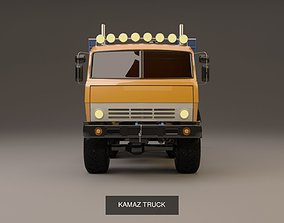 large-truck TRUCK COLLECTION Piterbuil 359 Kamaz Ifa 3D