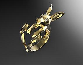 3D print model Hare Ring
