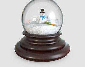 3D model Glass Snow Globes