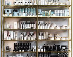 A set of premium cosmetics for a beauty salon 3D model