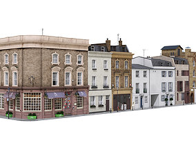 Part of Old Church street London 3D model
