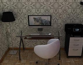 3D Office room multifunction