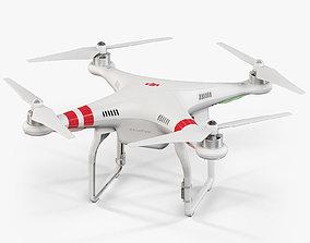 DJI Phantom 2 Quadcopter 3D model
