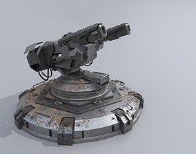 3D Futuristic Cannon