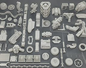 3D Kit bash - 54 pieces - collection-9