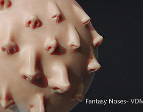 3D Zbrush - 18 Fantasy Noses - VDM Brushes