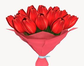 Flowers 3D asset