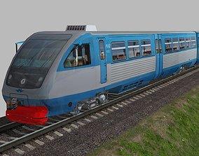 RA-2 rail bus 3D model
