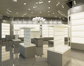 3D boutique interior