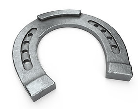 3D model Horseshoe steel