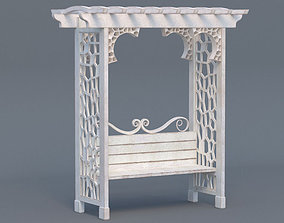 3D model Arbor Bench