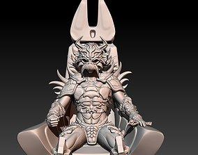 3D print model Darth Krayt on Throne