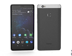 Huawei Honor Note 8 - Element 3D