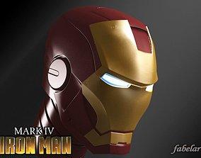 3D Ironman head