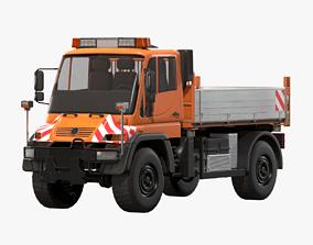 MB Unimog U500 Dump Truck 3D asset
