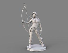 Tomb Rider sculpt 3D model