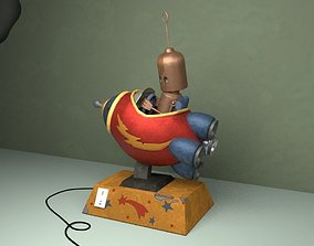 3D Robot Cohete - Rocket robot