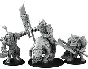 Horde of Orcs 3D print model