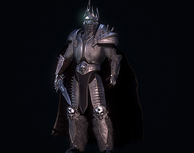 Lich king game ready 3D asset