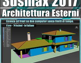 012 3ds max 2017 Architettura Esterni 12 Italiano cd 1