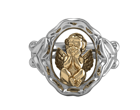 Angel Ring 3D printable model