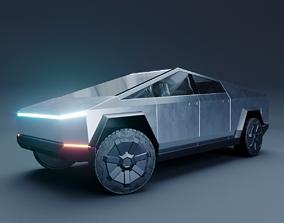 3D model PBR Tesla Cybertruck pbr