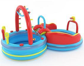 inflatable pool kid 3D model