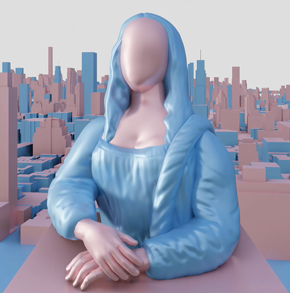 gioconda sculpt