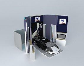 3D Motors exibition stand
