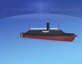 CSS Virginia Ironclad 3D