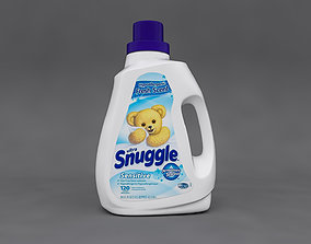 3D Snuggle Detergent Bottle