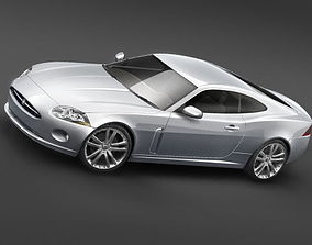 3D model Jaguar xk 2007