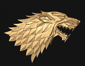 Game of Thrones - House Stark 3D