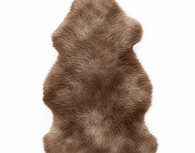 3D Soft Plush Faux Sheepskin Rug