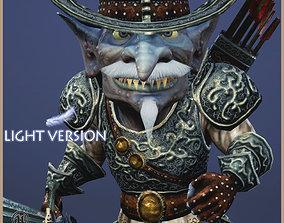 Goblin Baron Light Version 3D asset