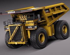 3D model CAT Haul Truck 797B
