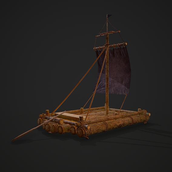 Medieval Raft