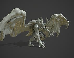 3D print model Winged Demon Beast