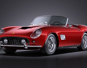 Ferrari 250gt California Spyder 1958 VRAY 3D