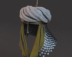 Medieval helmet 5 3d model PBR