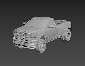 Dodge Ram 3500 2020 Regular Cab 3D printable model