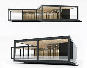 3D asset Villa house 14