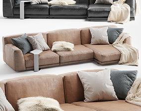 3D Paris Seoul Sofa Chaise