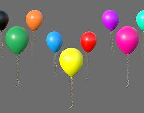 Balloon 3D asset