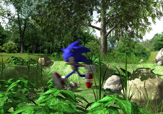 Sonic in My little place
